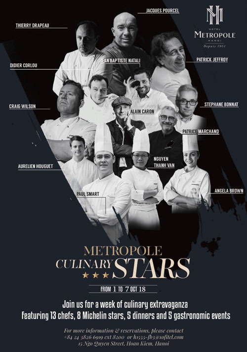 Culinary Stars 2018 at Metropole Hotel