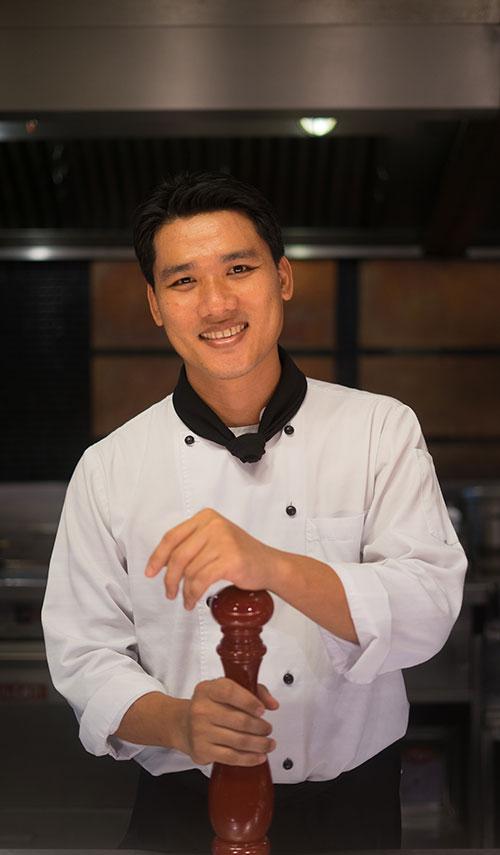 Chef Montri Jiratitkankit - The Athenee Hotel, Bangkok