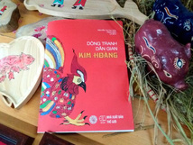Book on Kim Hoang folk painting launched