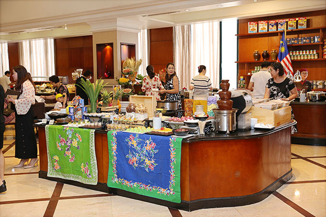 Enjoy Malaysian cuisine at Oven D'or Restaurant