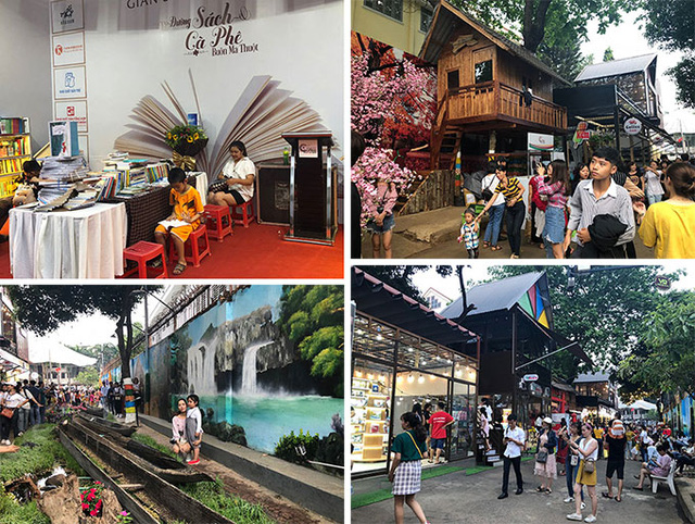 """Buon Ma Thuot Book and Coffee Street"""