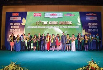 WINNERS CLEAN UP AT  The Guide Awards
