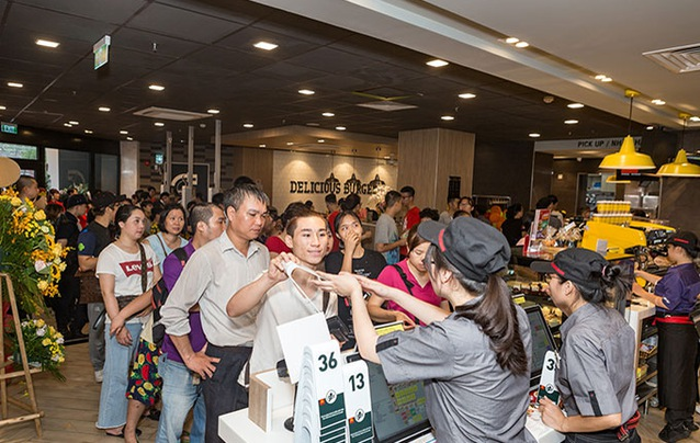 McDonald's Vietnam opened its fourth store in Hanoi