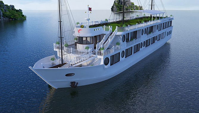 Oriental Sails launch Calypso Cruises on Lan Ha Bay