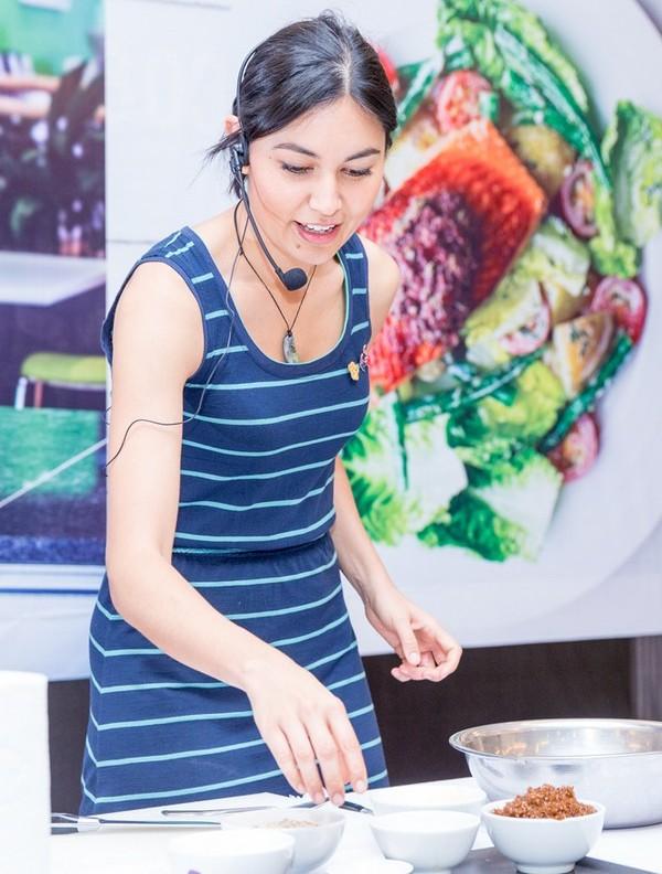 Nadia Lim in Vietnam