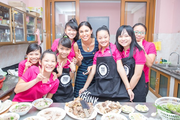 She also visits the Ba Chieu Home for Girls to learn more from the home's residents about Vietnamese cooking traditions