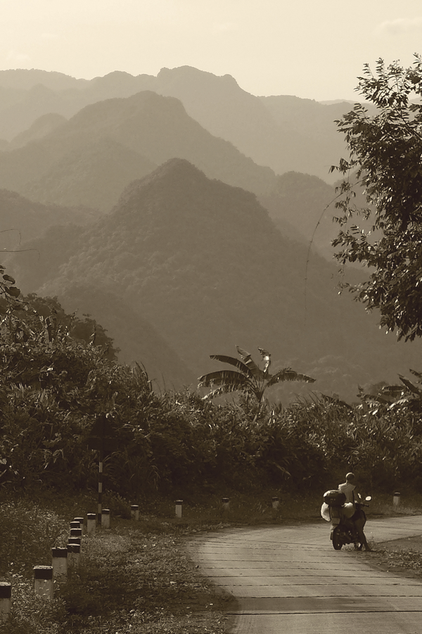 On the Western Ho Chi Minh Trail
