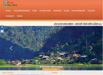 Hoa Binh launches smart tourism portal