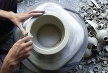 Stoking the kilns