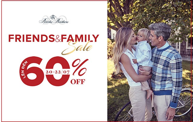 Save up to 60% off on Brooks Brothers' iconic products