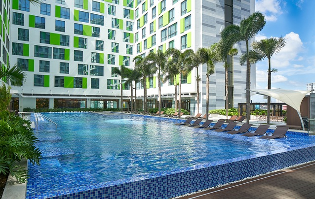 The first Holiday Inn hotel in Vietnam