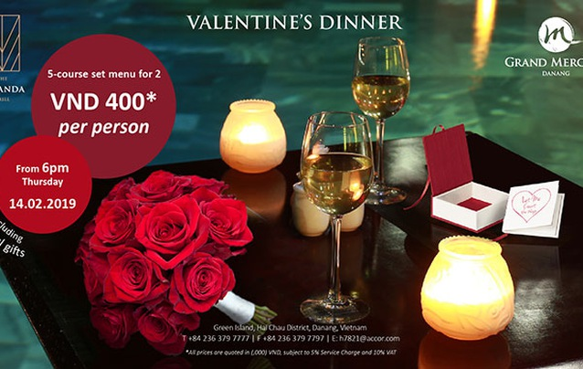 Valentine's Feast at Grand Mercure Danang Hotel